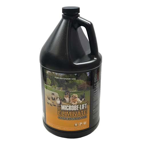 Microbe-Lift Eliminate Odor & Stain Remover - Cat/Dog (OUTDOORS) 1gallon (MPN ELIMOUTG1)