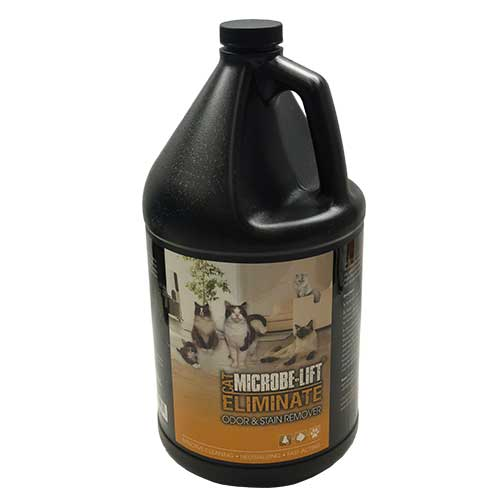 Microbe-Lift Eliminate Odor & Stain Remover - Cat (INDOORS) 1 gallon (MPN ELIMCATG1)