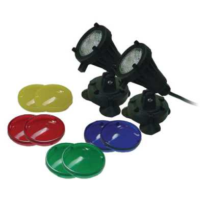 EasyPro (2) 6 Watt LED Underwater Light Kit (MPN LED6WPK)