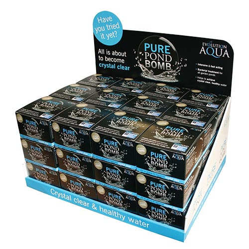 Evolution Aqua Pure Pond Bomb 36 pack (MPN PONDBOMB36)