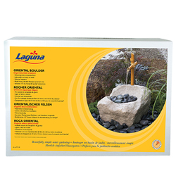 Laguna Oriental Boulder with Fountain (MPN PT1102)
