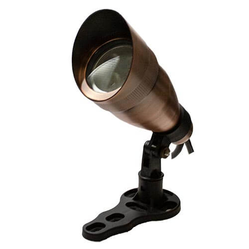 Anjon Manufacturing 9-Watt Bronze RGB Color Changing Spot Light w/ Hood (MPN RBRCC9DCHA)