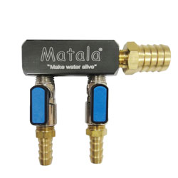 "Matala 2 Way Heavy Duty Manifold 1/2"" (MPN SC2-12)"