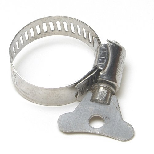 Alpine 3/8 to 5/8-Inch #6 Stainless Winged Hose Clamps, Mini (MPN HTSS3812PK)