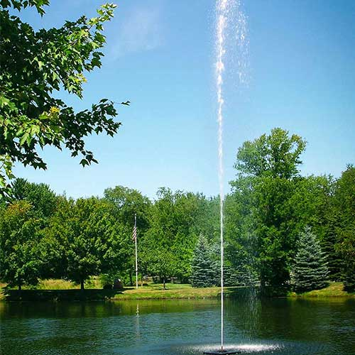 Scott Aerator Jet Stream Fountains 1½ hp, 230 V, 100' Cord (MPN 13524)