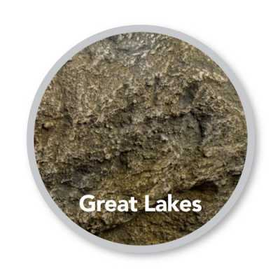 "Atlantic Rock Lid - Great Lakes 24""L x 24""W x 5""H  (MPN RL30G)"